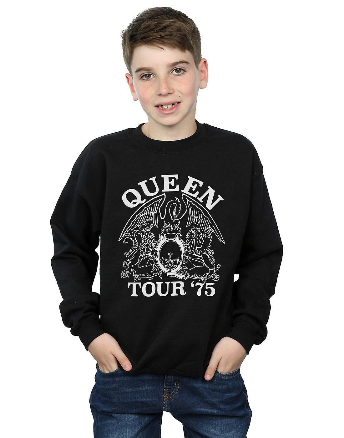 Queen Boys Tour 75 Crest Sweatshirt