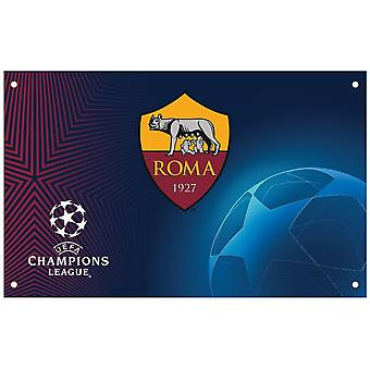SOM Roma Champions League flagg