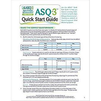 Leeftijden & stadia vragenlijsten (ASQ-3) - Quick Start Guide - een Parent-Com
