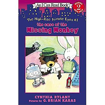 The High-Rise Private Eyes #1: The Case of the Missing Monkey (I Can Read Books: Level 2 (Harper Paperback))