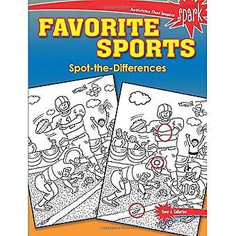 Spark favorit sport Spot-The-skillnader