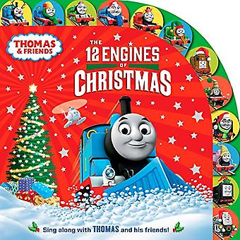 The 12 Engines of Christmas (Thomas & Friends) [Board book]