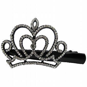 Rhinestone kurvede Crown hår klip graduering hår tilbehør