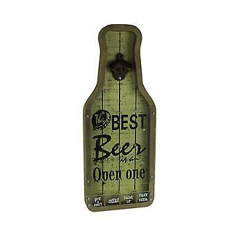 De beste bier Wandmodellen fles Opener Cap Catcher spel