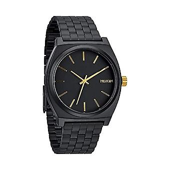 Nixon analog quartz watch with stainless steel band _ A0451041-00