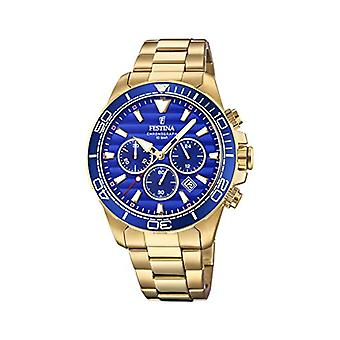 Festina Chronograph quartz men's Watch with stainless steel band F20364/2