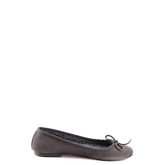 Twin-set Ezbc060066 Mujeres's Gris Ante Flats