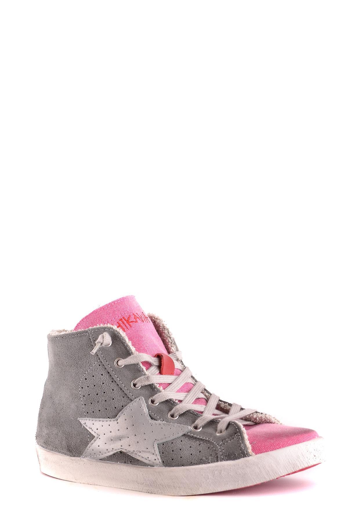Ishikawa Ezbc088012 Donne's Grey Suede Hi Top Sneakers