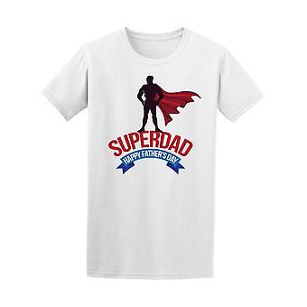 SuperDad, glückliche Vatertag T-Shirt Herren-Bild von Shutterstock