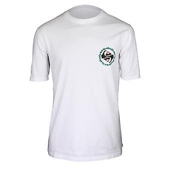 Quiksilver Herren Omni Double T-Shirt-weiß