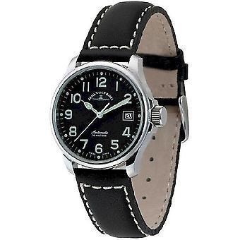 Zeno-watch mens watch basic pilot automatic 12836-a1