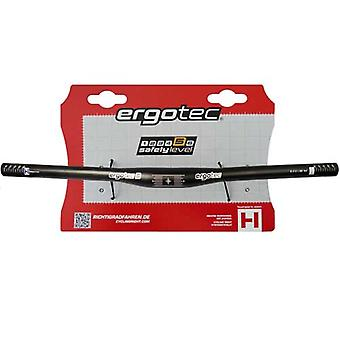 Ergotec flat bar MTB handlebar (aluminium) / / safety level 6