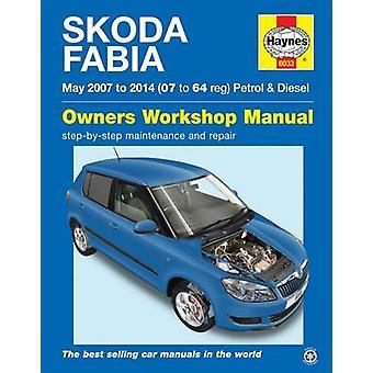 Skoda Fabia Petrol & Diesel Owners Workshop Manual by Peter Gill - 97