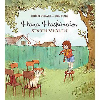 Hana Hashimoto by Qin Leng - Chieri Uegaki - 9781894786331 Book
