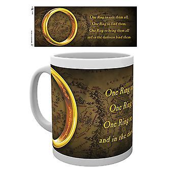 Il Signore degli anelli unico anello Boxed tazza bevente