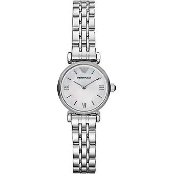 Emporio Armani ure Ar1688 damer Silver Gianni T-bar Watch