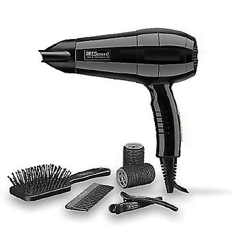 TRESemme 5515U Salon Dry & Styler Hair Dryer Brush and Rollers Accessories 2000W