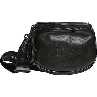 Urban Classics - CROSSOVER faux leather bag black