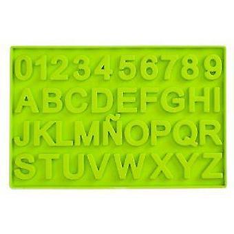 Ibili chocolade mal Letters en cijfers (keuken, bakkerij, mallen)