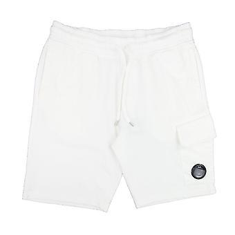 CP företag lins svett shorts vit 103