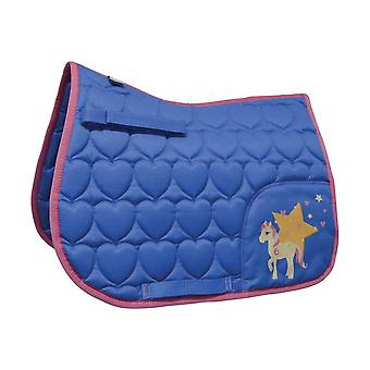 Little Rider Childrens/Kids Star in Show Saddle Pad