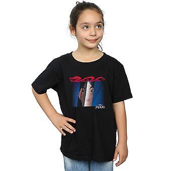 Disney Girls Mulan Face Peep T-paita