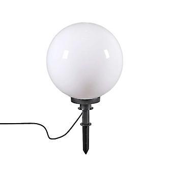 QAZQA Moderne Außenleuchte mit Massestift 40 cm IP44 - Glühbirne