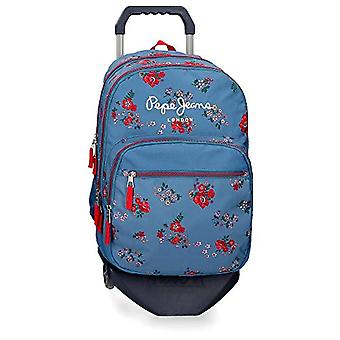 Pepe Jeans Pam Backpack 44.9 Centimeters 23.9 Multicolor (Multicolor)