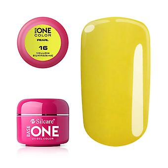 Base one-Pearl-Yellow sunmarine 5g UV Gel