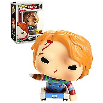 Childs Play Chucky on Cart US Exclusive Pop! Vinyl