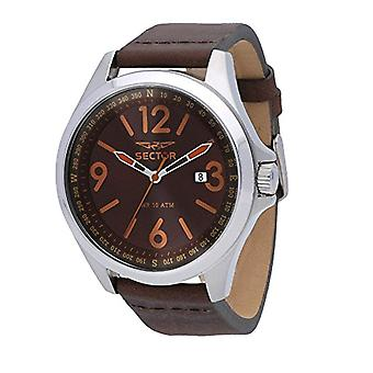 Sector watch Analog quartz men's watch with leather R3251180016
