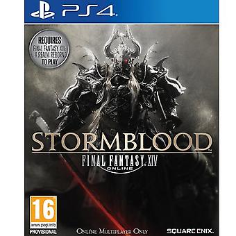 Final Fantasy XIV Stormblood-PS4