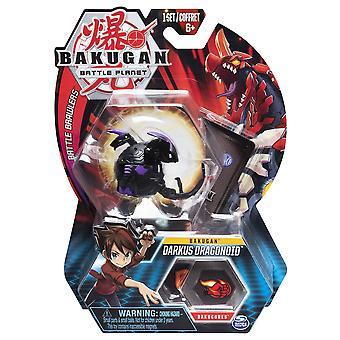 Core Bakugan 1 Pack 2 Inch Figure Darkus Dragonoid
