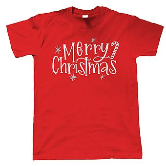 Merry Christmas, Mens T-Shirt - Christmas Gift Him Dad