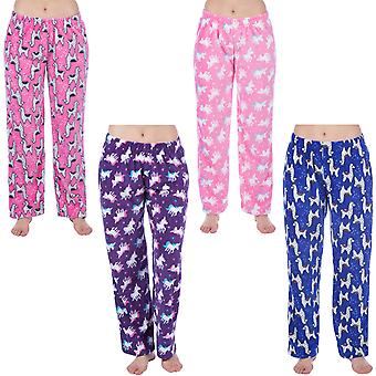 Selena Secrets Donne Super Morbido Caldo Inverno Nightwear Pantaloni Pyjama Bottoms