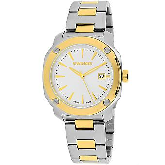Wenger Men's Edge Index Silver Dial Watch - 01.1141.115