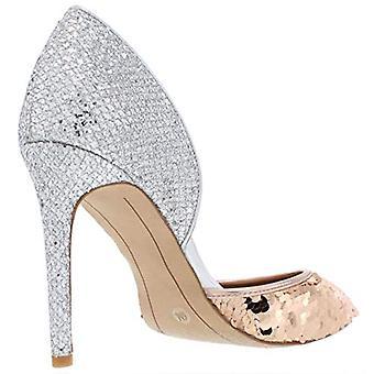 INC Womens Koree Fabric Metallic D'Orsay Heels 6 Medium (B,M)