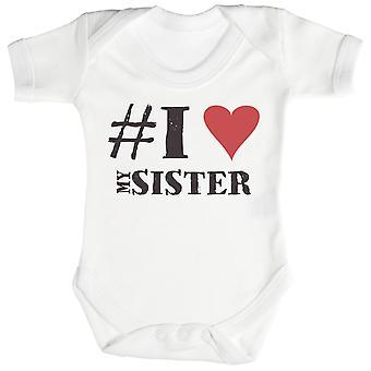 #I amo minha irmã bebê Bodysuit / Babygrow