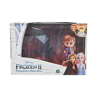 Disney Frozen bevroren 2 Whisper & Glow Anna display huis