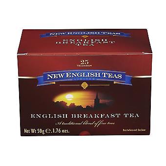 Thé classique de petit déjeuner anglais 25 sachets de thé emballés individuellement