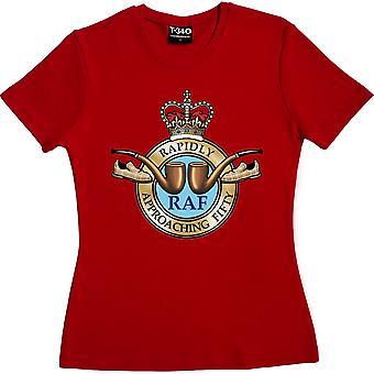RAF: hurtigt nærmer sig 50 røde kvinder ' s T-shirt