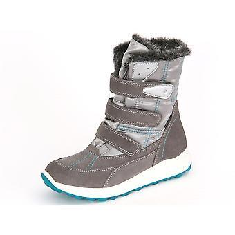 Superfit Merida Stein Kombi Velour Textil 70015406 universelle Winter Kinderschuhe
