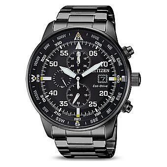 Citizen mens watch eco-drive chronograph CA0695-84E