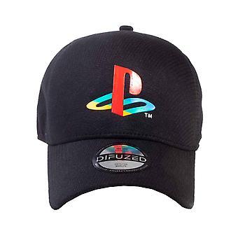 Playstation Baseball Cap Seamless Cap Logo new Official Black Unisex