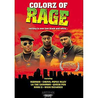 Colorz of Rage (1999) DVD D-Don, kuningatar kynä, Redman