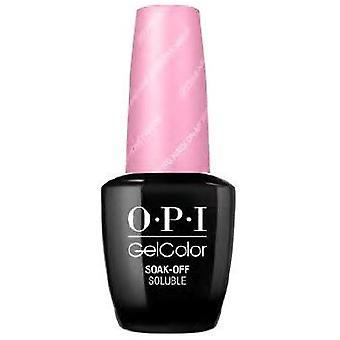 OPI GelColor Gel Color - Soak Off Gel Polish - Getting Nadi On My Honeymoon 15ml (GC F82)