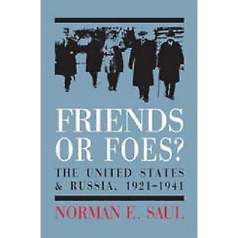 Venner eller fiender? -USA og Russland - 1921-1941 av