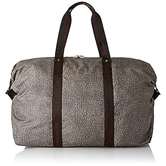 Borbonese Large Handbag Women's Hand Bag (Classic Op/Brown) 57x38x23 cm (W x H x L)