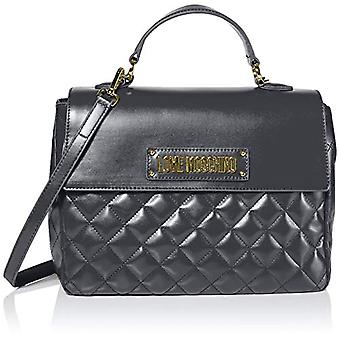 Love Moschino Bag Quilted Nappa Pu Hand Women (Cinza) 21x30x11 cm (W x H x L)