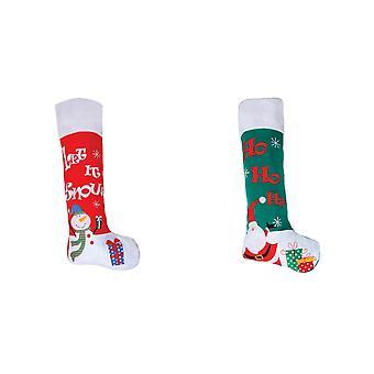 圣诞商店巨人感觉圣诞丝袜